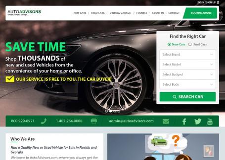 Auto Advisor - Web Development